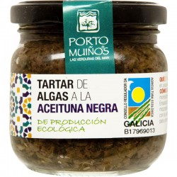 Tártaro de algas c/ azeitona preta