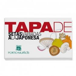 Tapa - cogumelos variados à japonesa
