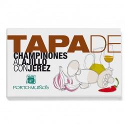 Tapa - Champignon ao alho com Jerez