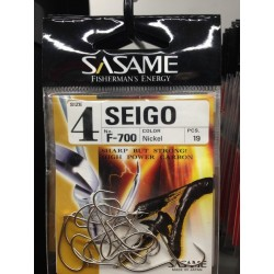 Anzol Sasame F-700 Maruseigo Nickel Nº04