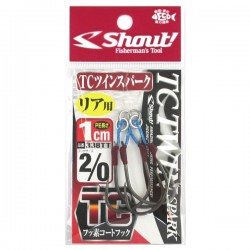 Anzol Shout TC Twin Spark 1cm 2/0