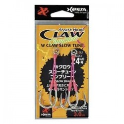 Anzol W Claw Slow Tune Complete 24- 4/0 3cm