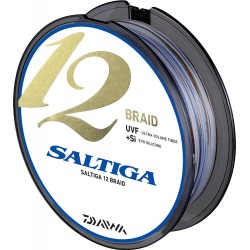 Multifilamento Daiwa Saltiga 12 Braid - 600m 0.45mm 53.4Kg (118lb)