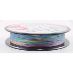 20Lb / 9Kg JBRAID 8B 150MT 16/100 multifilament wire coil Multicolor