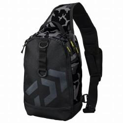 Daiwa ONE SHOULDER BAG LT (C) Black Camouflage
