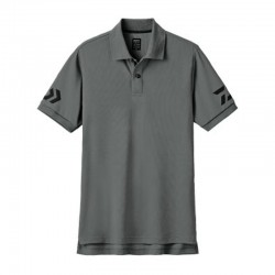 Camiseta Polo DE-7906- XL -GUN METAL/ BLACK