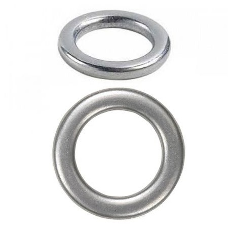 Argolas Hard Solid Ring - 2