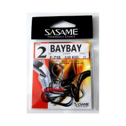 Anzol Sasame F-715 Baybay Black  nº2