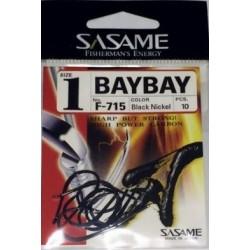 Anzol Sasame F-715 Baybay Black  nº1