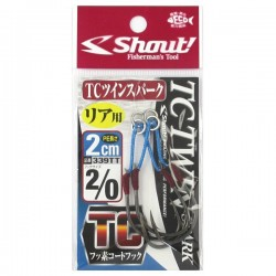 Anzol Shout TC Twin Spark 2cm 2/0
