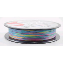 20Lb / 9Kg JBRAID 8B 150MT 16/100 multifilament wire coil Multicolor