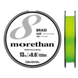Daiwa UVF Morethan X8 +si 150m (PE0.8 - 13lb)