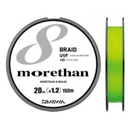 Daiwa UVF Morethan X8 +si 150m (PE1.2 - 20lb)