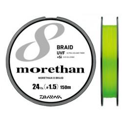 Daiwa UVF Morethan X8 +si 150m (PE1.5 - 24lb)