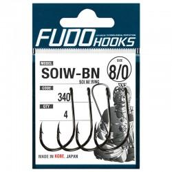Fudo Hooks SOIW-BN 8/0