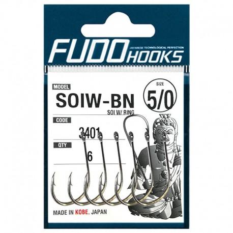Fudo Hooks SOIW-BN 5/0