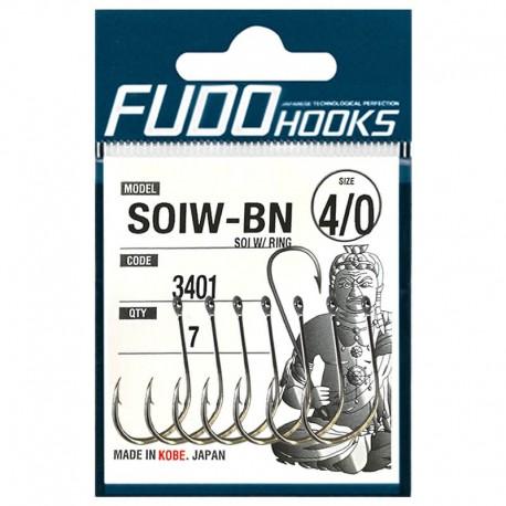 Fudo Hooks SOIW-BN 4/0