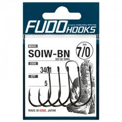 Fudo Hooks SOIW-BN 7/0