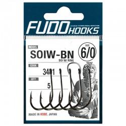 Fudo Hooks SOIW-BN 6/0