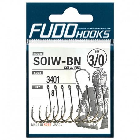 Fudo Hooks SOIW-BN 3/0