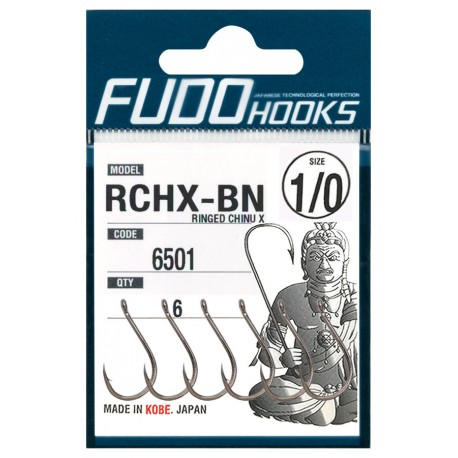 Fudo Hooks RCHX-BN 1/0