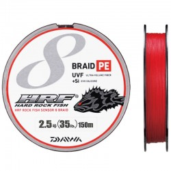 Daiwa Braid PE UVF +Si Hard Rock Fish 150m-2.5/35lb