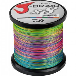 Daiwa J-Braid X8 Multicolor 1500M-0.42mm/46,5kg