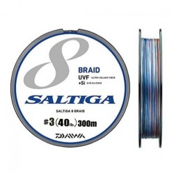 Daiwa Saltiga 8 Braid +Si - 300m - PE3.0-40lb