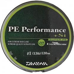 Daiwa PE line performance + Si no.1 (13lb) 120m