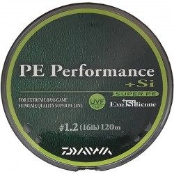 Daiwa PE Performance + Si 120m no.1.2 (16lb)