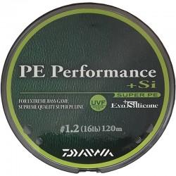 Daiwa PE line performance + Si no.1.2 (16lb) 120m