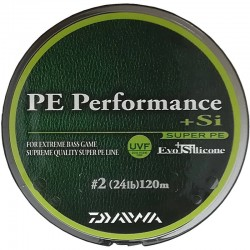 Daiwa PE line performance + Si no.2 (24lb) 120m