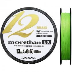 Daiwa Morethan 12Braid EX+Si 150m (PE 0.6 - 13lb)