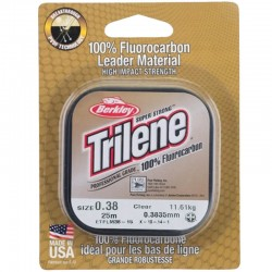 Berkley Trilene 100% Fluorocarbon 25m 0.38mm 11.61kg