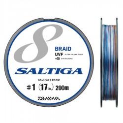 Daiwa Saltiga 8 Braid +Si - 200m - PE1.0-17lb
