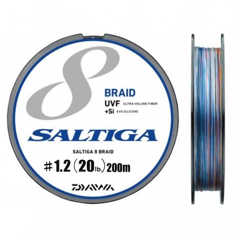 Fio Daiwa UVF Saltiga 8 Braid +Si 1.2-200