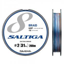 Daiwa Saltiga 8 Braid +Si - 200m - PE2.0-31lb