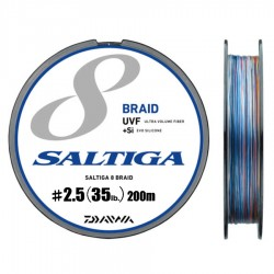 Daiwa Saltiga 8 Braid +Si - 200m - PE2.5-35lb