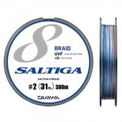 Daiwa Saltiga 8 Braid +Si - 300m - PE2.0-31lb