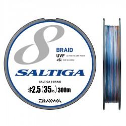 Daiwa Saltiga 8 Braid +Si - 300m - PE2.5-35lb