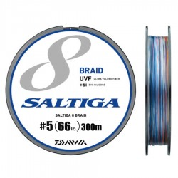 Daiwa Saltiga 8 Braid +Si - 300m - PE5.0-66lb