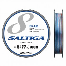 Daiwa Saltiga 8 Braid +Si - 300m - PE6.0-77lb