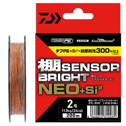 Daiwa Sensor Bright NEO+Si2 - 200m (PE 2 - 11.0kg 24lb)