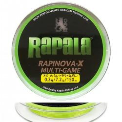 Rapala Rapinova-X Multi-Game (0.3/7.2lb/150m)