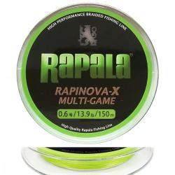Rapala Rapinova-X Multi-Game (0.6/13.9lb/150m)