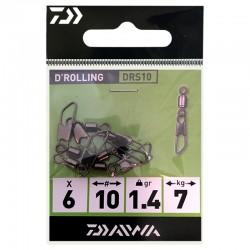 Daiwa D'Rolling DRS 10 (6 Pcs)