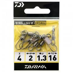 Daiwa D'Rolling R DRSR 02 (4 Pcs)