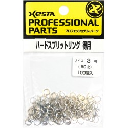 Xesta Hard Split Ring size 3 value pack (100pcs)