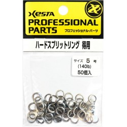Xesta Hard Split Ring size 5 value pack (50pcs)