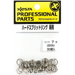 Xesta Hard Split Ring size 7 value pack (30pcs)